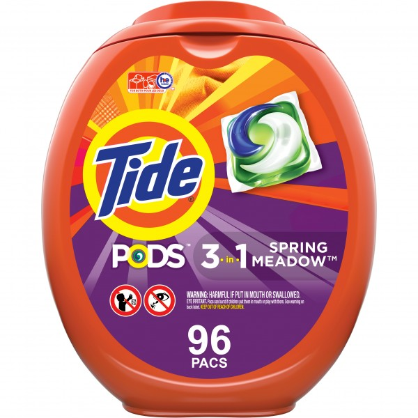 (608526496) Tide Pods Spring Meadow 96 Ct Laundry
