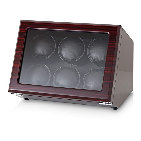 Watch Winder for 6 Automatic Watches with Motor-St