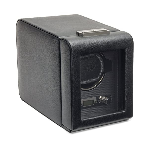 WOLF 456002 Viceroy Single Watch Winder with Cover