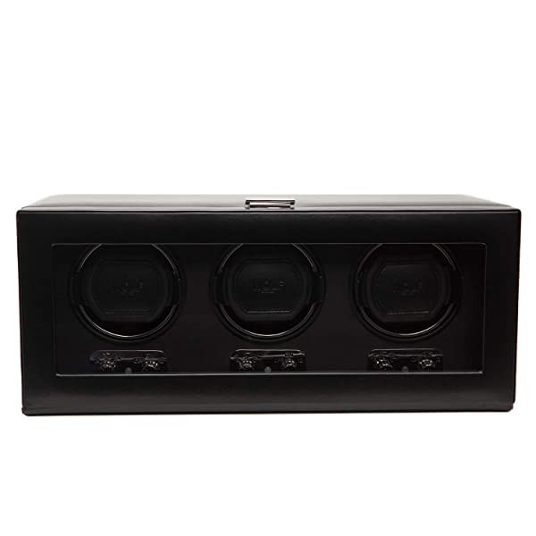 WOLF 270202 Heritage Triple Watch Winder with Cove