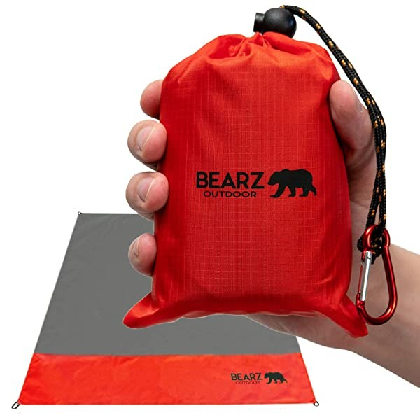 BEARZ Outdoor Beach Blanket Waterproof Picnic Blan