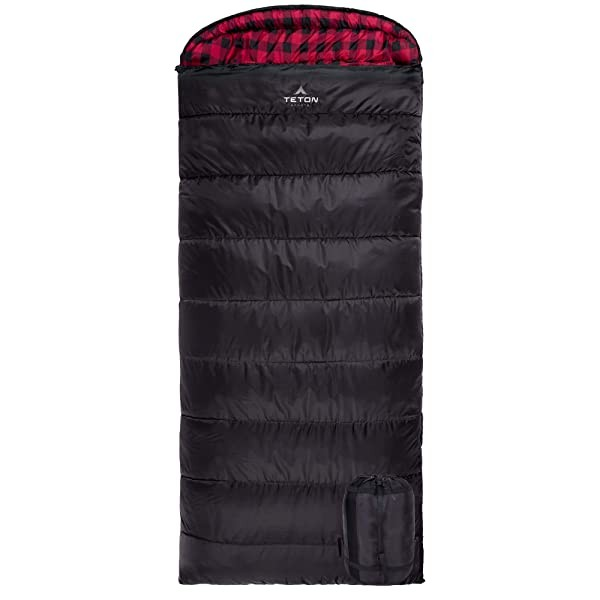 TETON Sports Celsius XXL Sleeping Bag Great for Fa