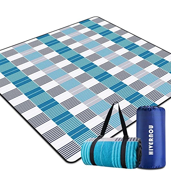 Hivernou Outdoor Picnic Blanket Waterproof Extra L