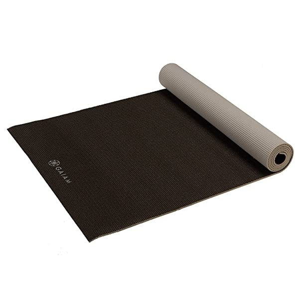 Gaiam Yoga Mat - Solid Color Exercise & Fitness Ma