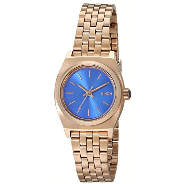 Nixon Women's Small Time Teller Stainless Steel Wa