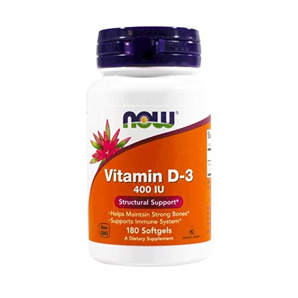 [미국] 1083634 NOW Foods Vitamin D-3 400 IU Softgels