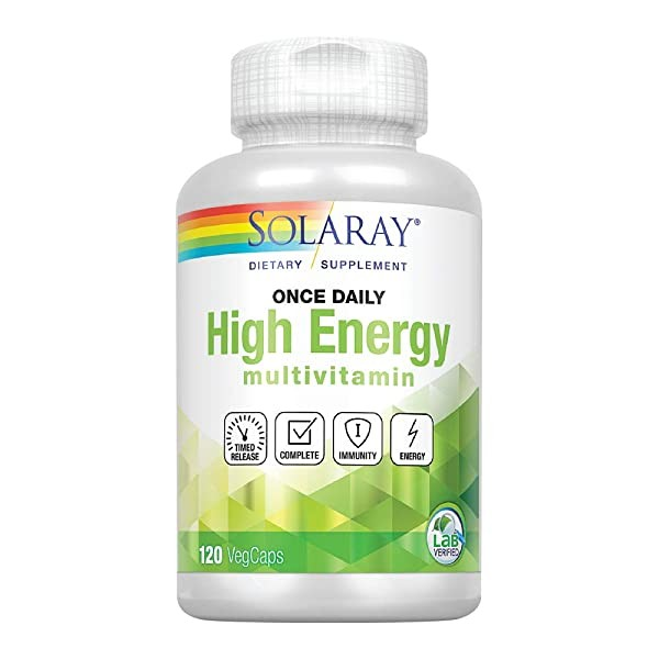 [미국] 1083646 Solaray High Energy Multivitamin | On