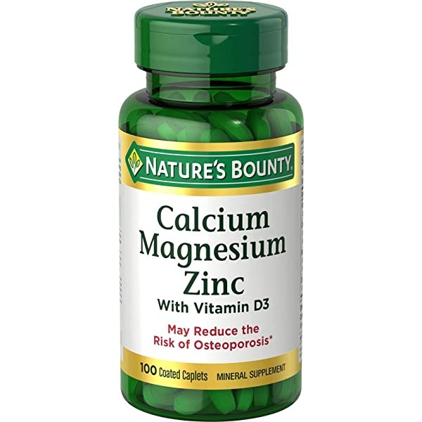 [미국] 1076089 Calcium Magnesium & Zinc by Nature's
