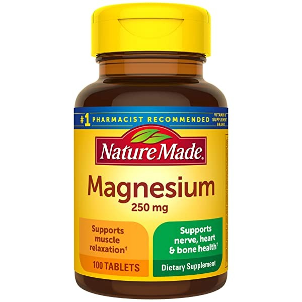 [미국] 1076102 Nature Made Magnesium Oxide 250 mg Ta