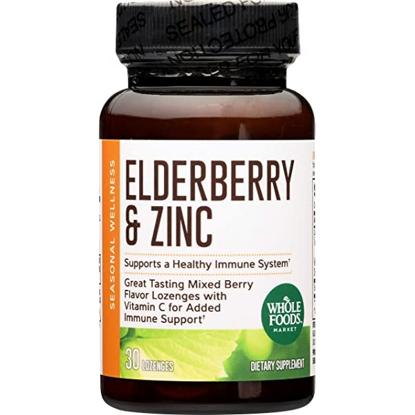[미국] 1076087 Whole Foods Market Elderberry & Zinc
