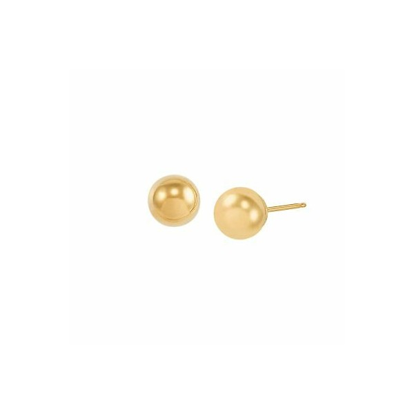 [미국] 1416011 7 mm Polished Ball Stud Earrings in 1