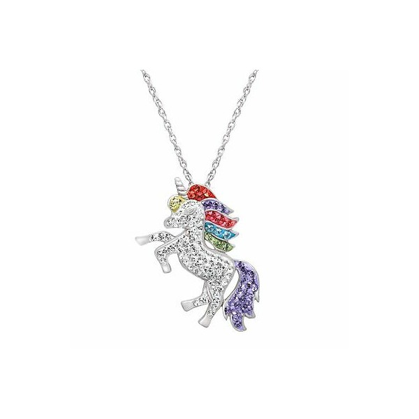 [미국] 1416010 Crystaluxe Unicorn Pendant with Swaro